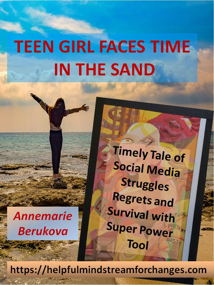 Teen Girl Faces Time in the Sand Book Cover